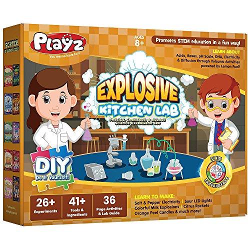 Playz Explosive Kitchen Lab