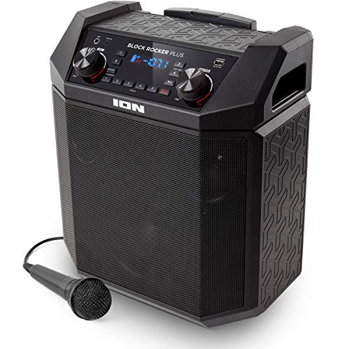ION Audio Block Rocker Plus | 100W Portable Speaker