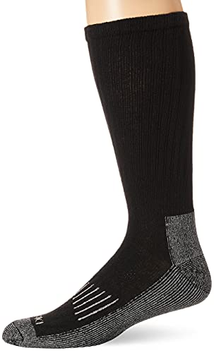 Dickies Men's Heavyweight Cushion Compression Work Crew Socks