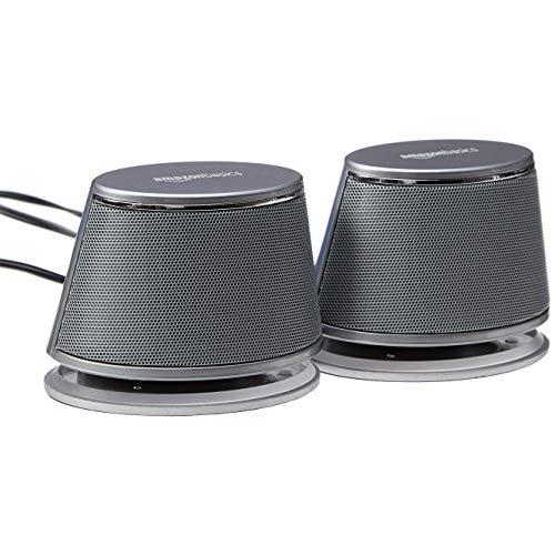AmazonBasics USB Powered Computer Speakers A100
